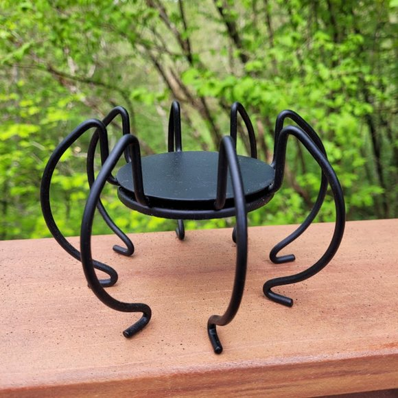 NEW in Box Partylite Spider Candle Holder 8728